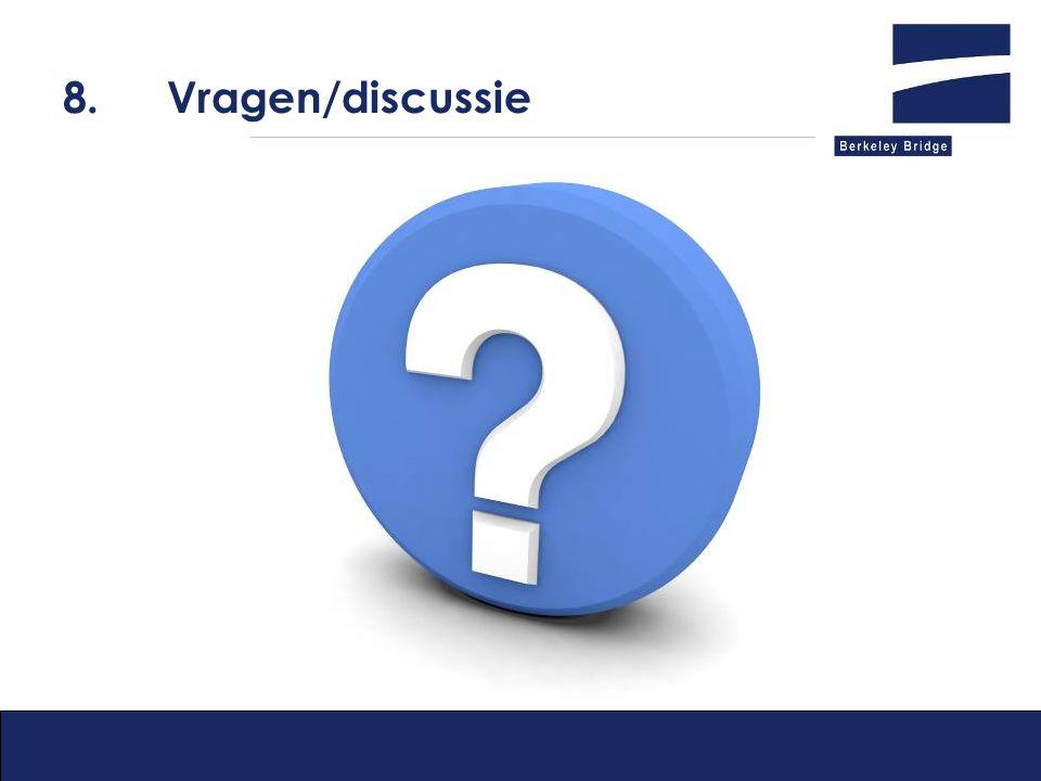 8. Vragen/discussie