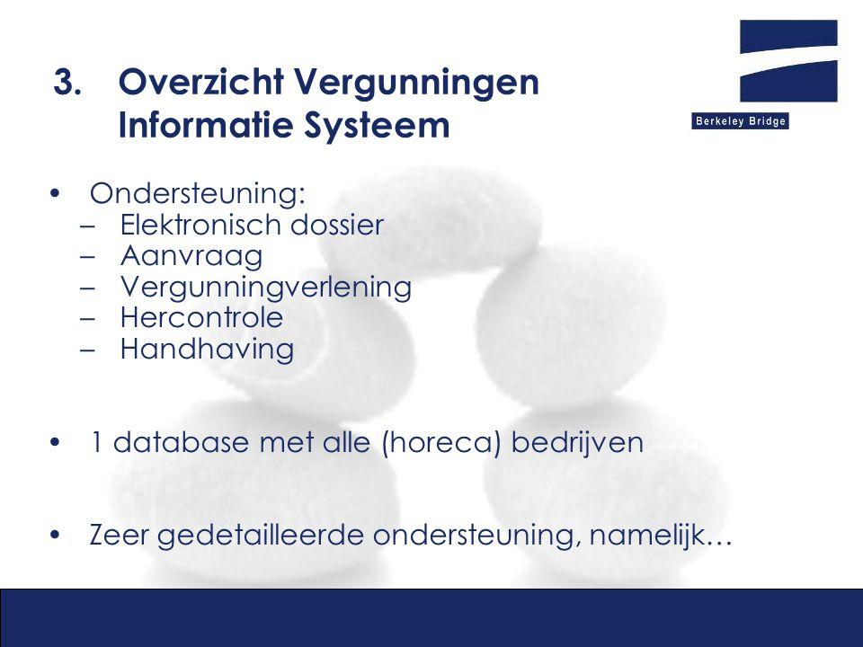 3. Overzicht Vergunningen Informatie Systeem
