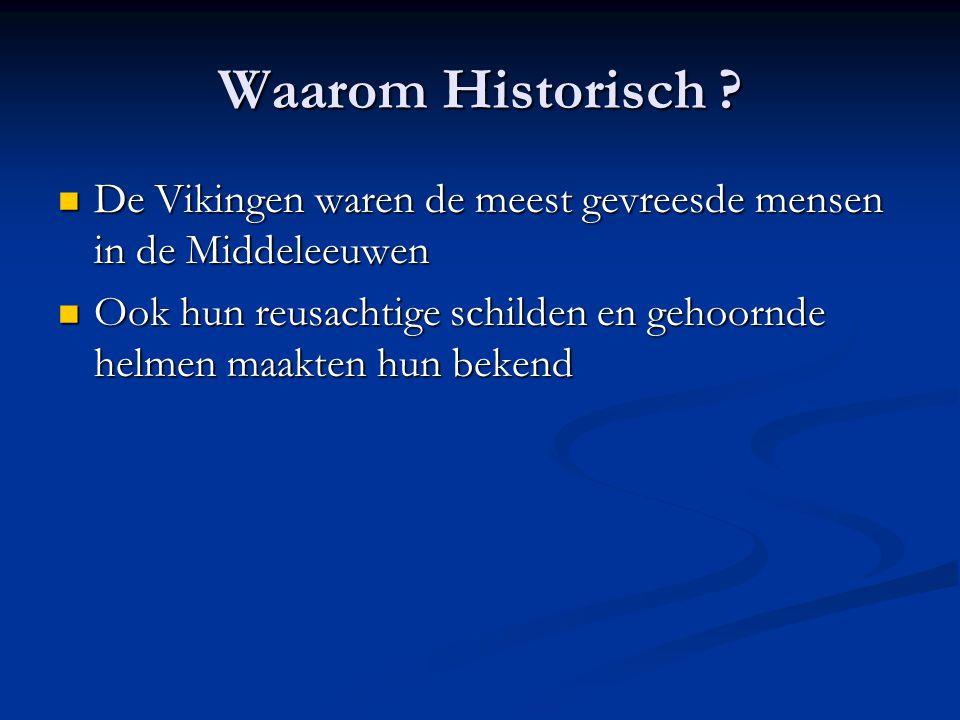 Waarom Historisch De Vikingen waren de meest gevreesde mensen in de Middeleeuwen.