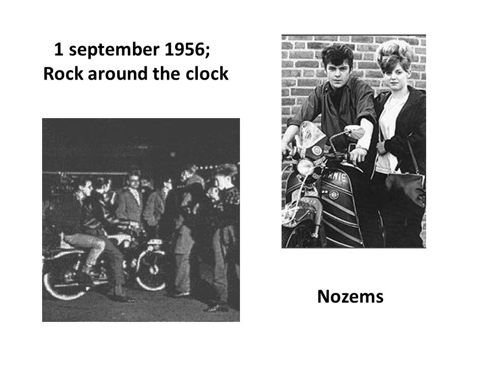 1 september 1956; Rock around the clock