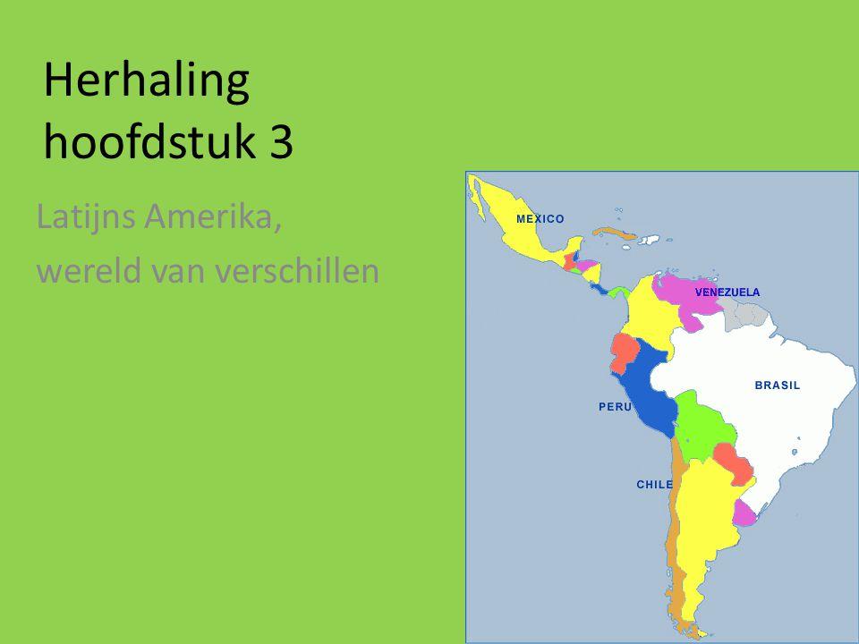 Latijns Amerika, wereld van verschillen