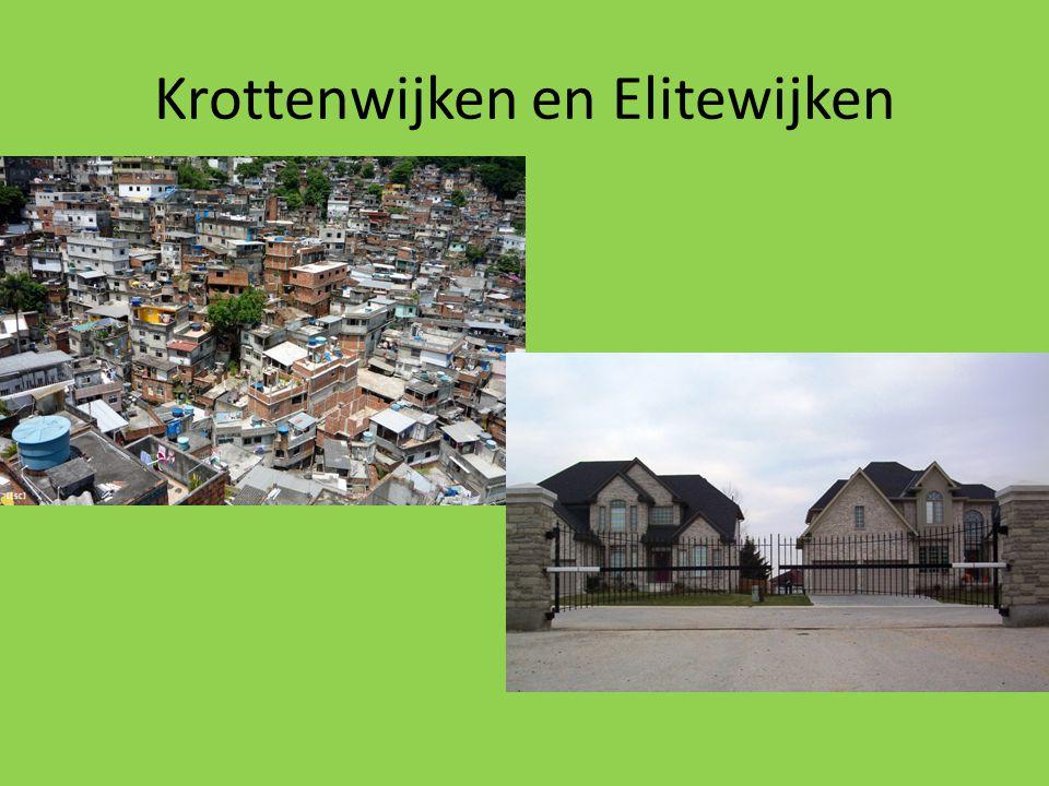 Krottenwijken en Elitewijken