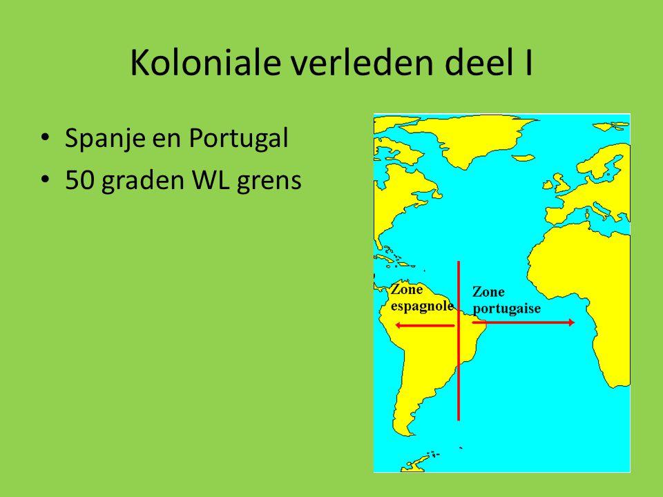 Koloniale verleden deel I