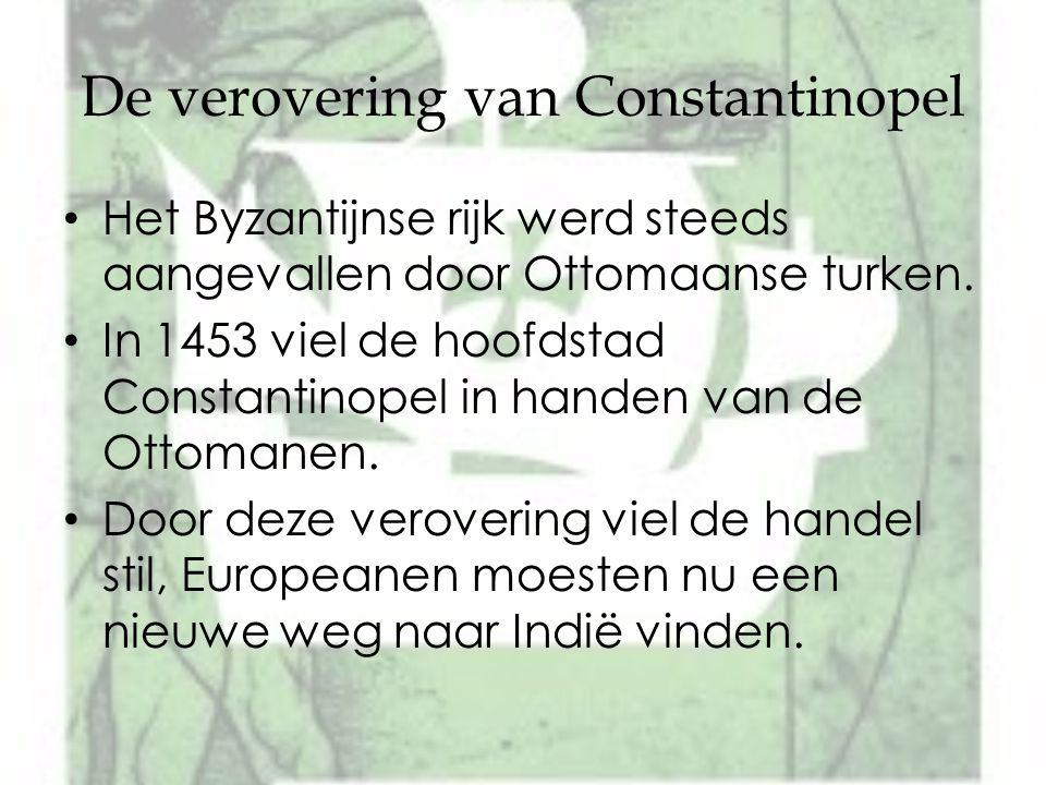De verovering van Constantinopel