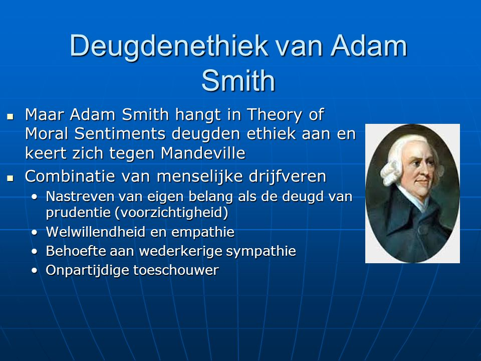 Deugdenethiek van Adam Smith