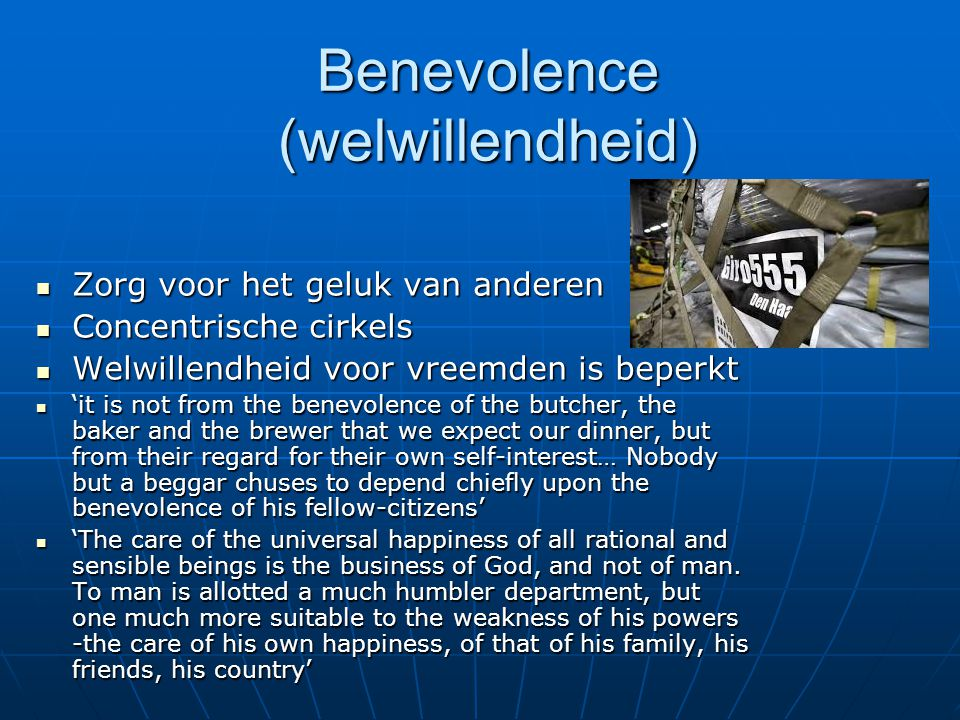 Benevolence (welwillendheid)