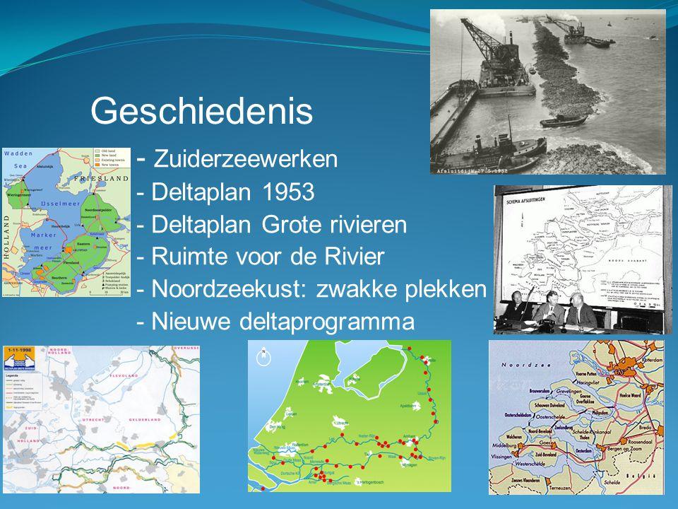 Geschiedenis - Zuiderzeewerken - Deltaplan 1953
