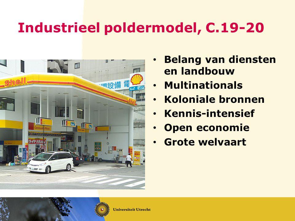 Industrieel poldermodel, C.19-20