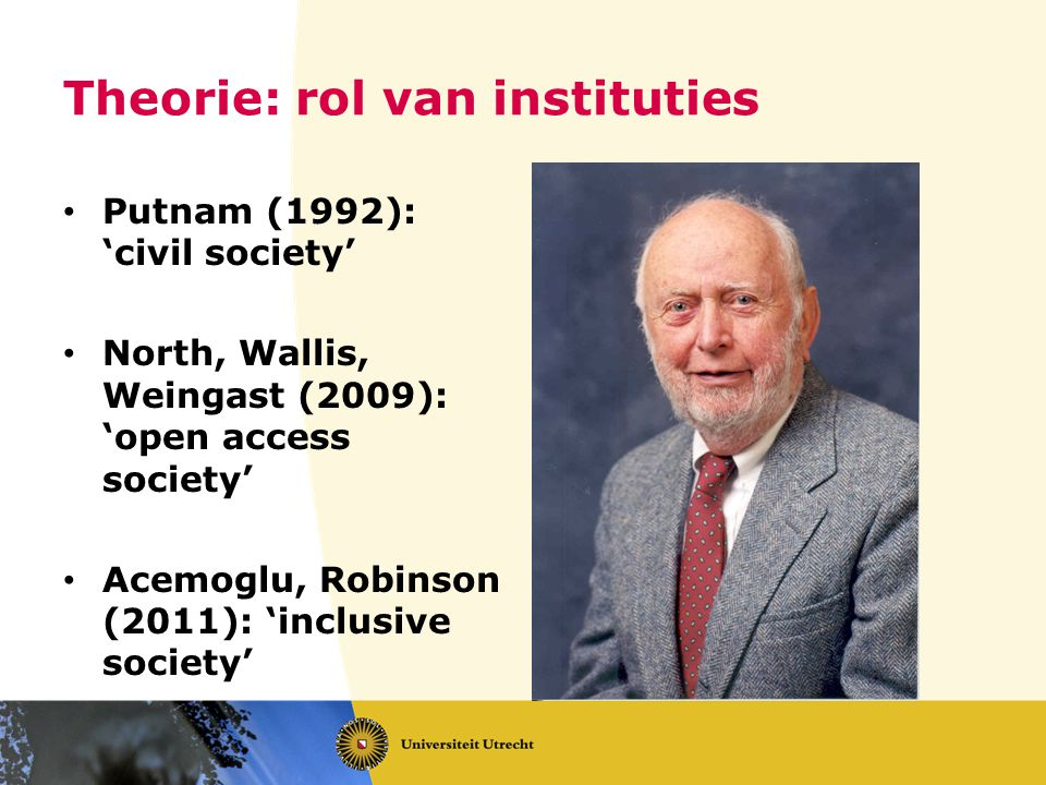 Theorie: rol van instituties