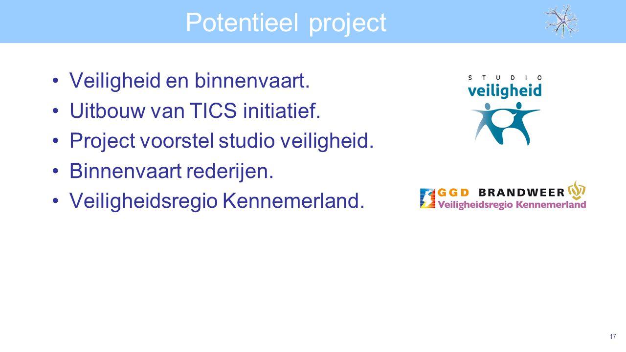 Potentieel project Veiligheid en binnenvaart.