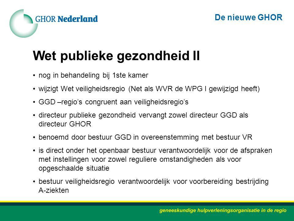 Wet publieke gezondheid II
