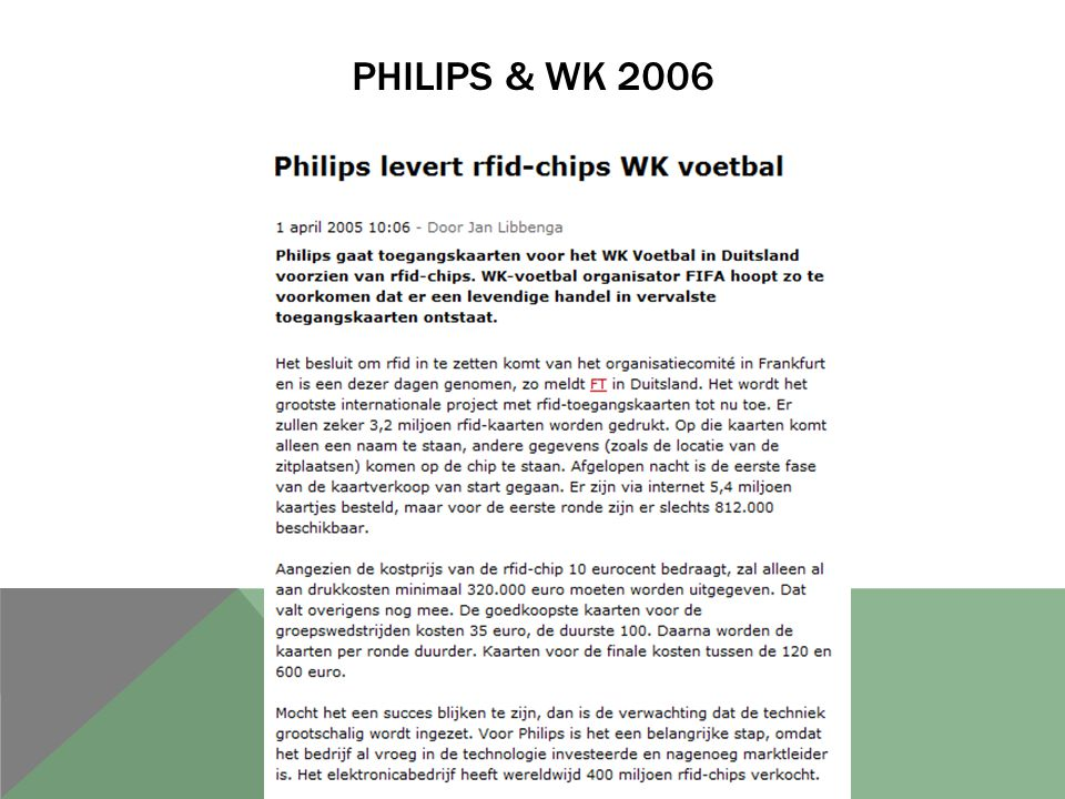 Philips & wk 2006