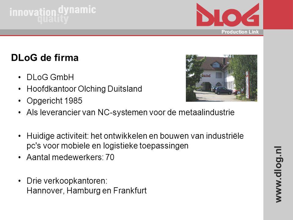 DLoG de firma DLoG GmbH Hoofdkantoor Olching Duitsland Opgericht 1985