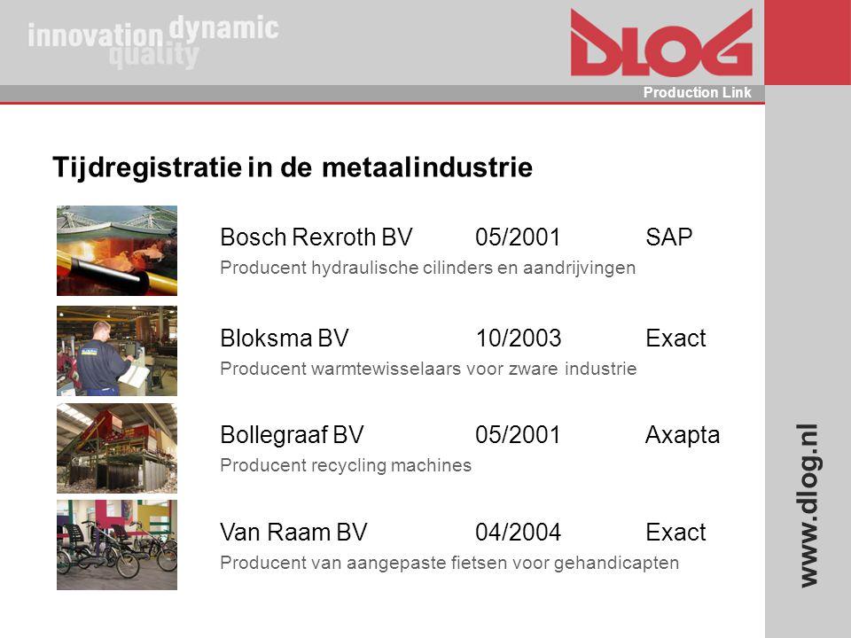 Tijdregistratie in de metaalindustrie