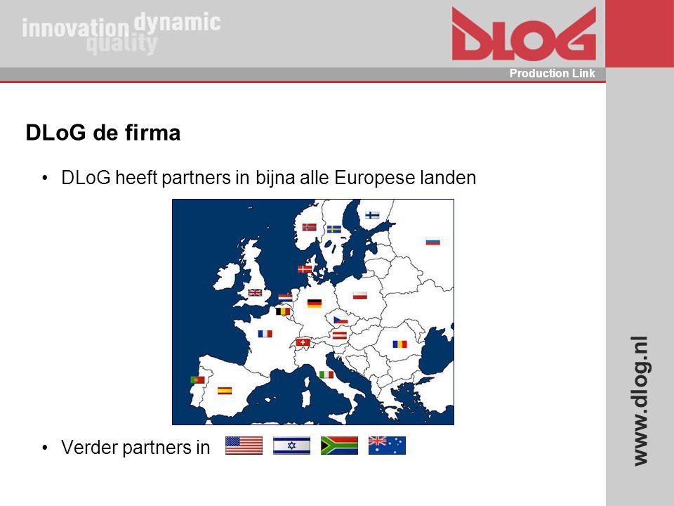 DLoG de firma DLoG heeft partners in bijna alle Europese landen