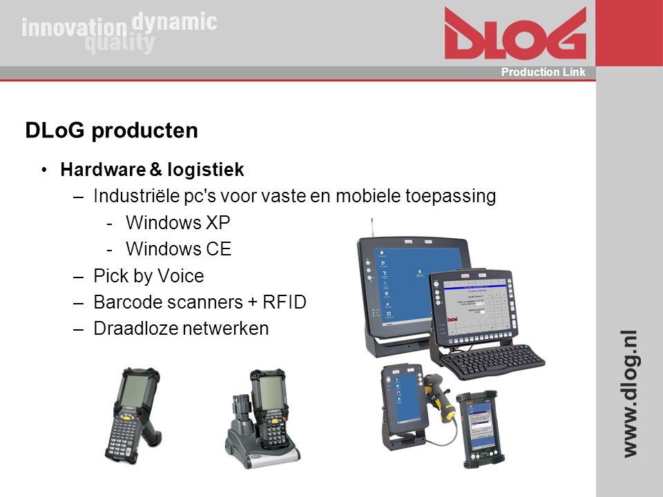 DLoG producten Hardware & logistiek