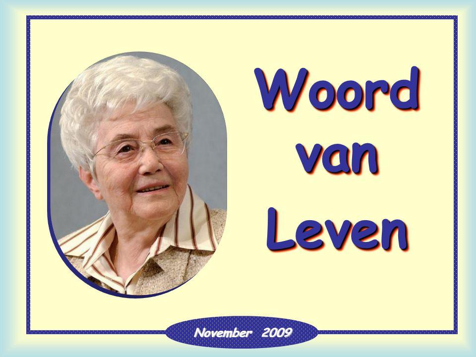 Woord van Leven November 2009