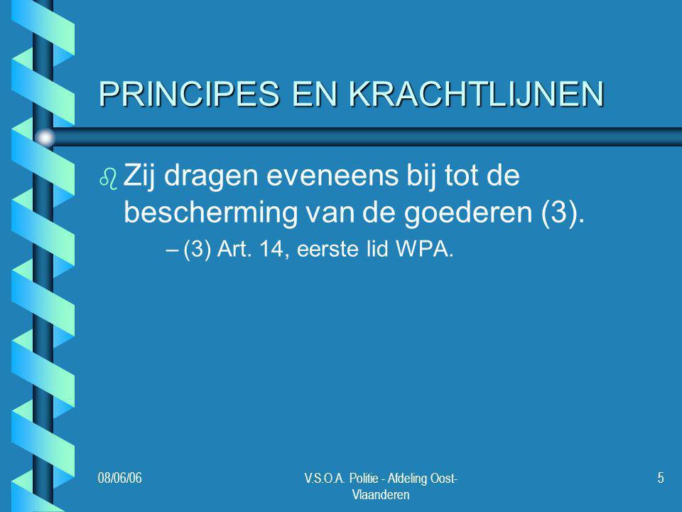 PRINCIPES EN KRACHTLIJNEN
