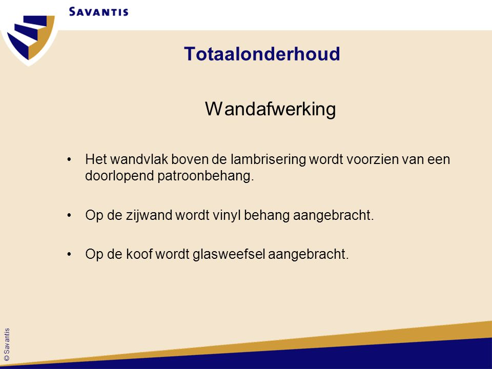 Totaalonderhoud Wandafwerking