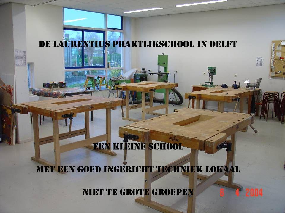 DE LAURENTIUS PRAKTIJKSCHOOL IN DELFT