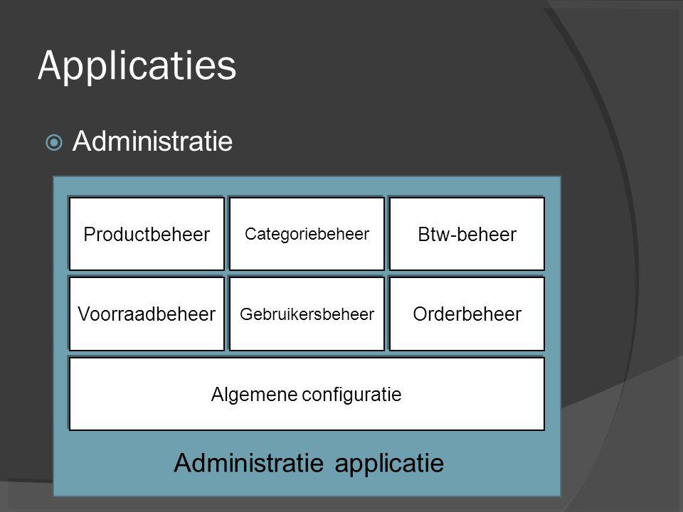 Algemene configuratie