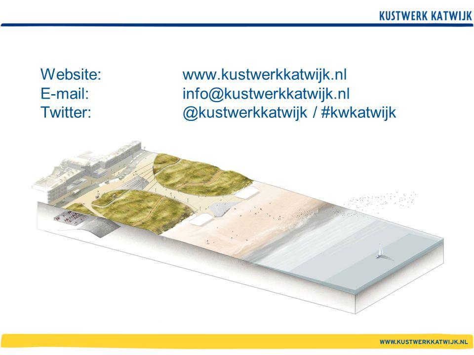 Website:. www. kustwerkkatwijk. nl E-mail:. info@kustwerkkatwijk