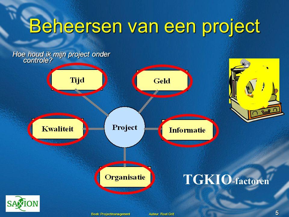 Beheersen van een project