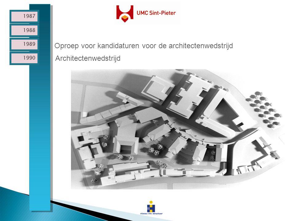 Oproep voor kandidaturen voor de architectenwedstrijd