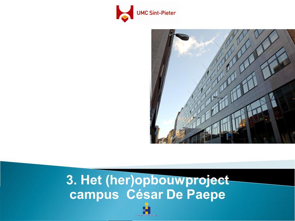 3. Het (her)opbouwproject