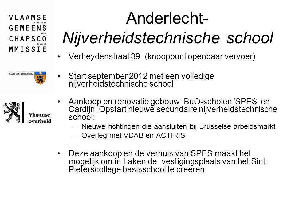 Anderlecht- Nijverheidstechnische school