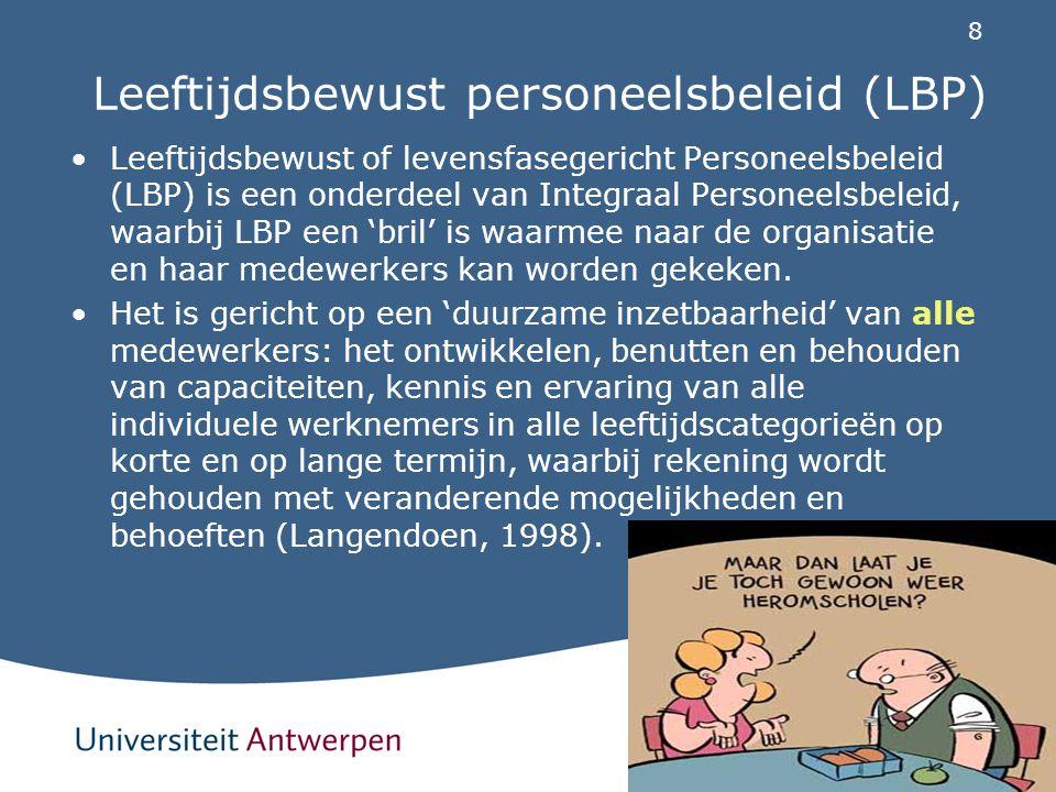 Leeftijdsbewust personeelsbeleid (LBP)