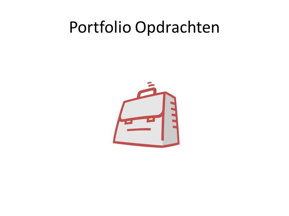 Portfolio Opdrachten