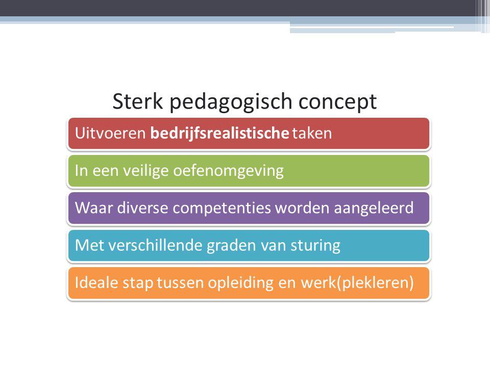 Sterk pedagogisch concept