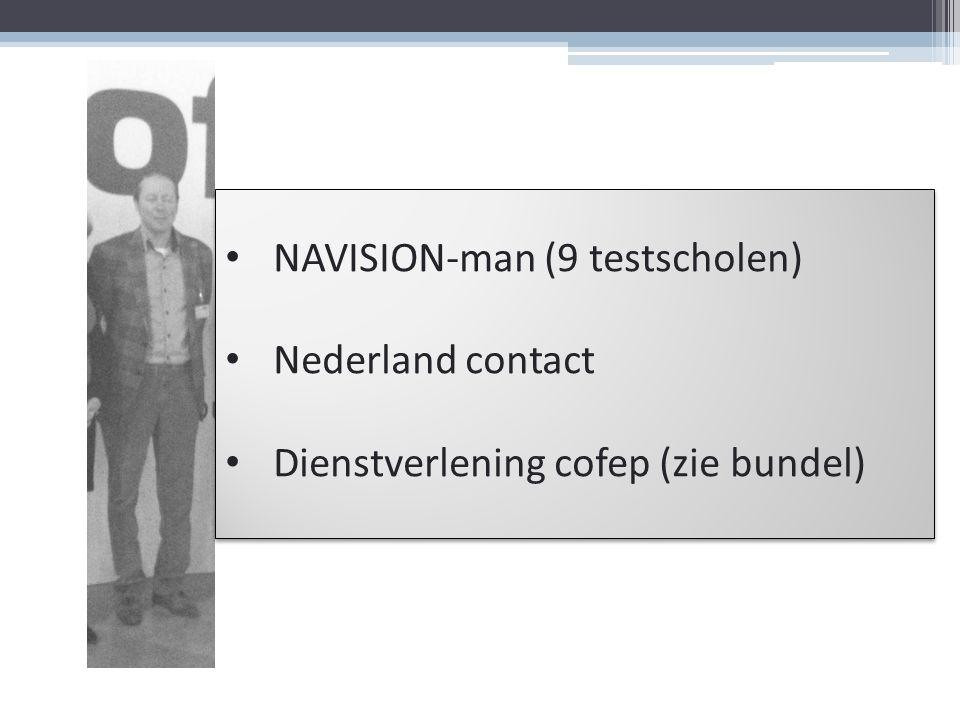 NAVISION-man (9 testscholen)