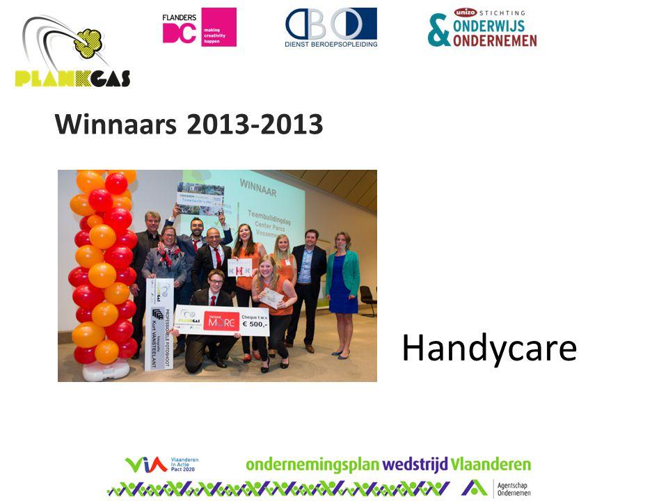 Winnaars 2013-2013 Handycare