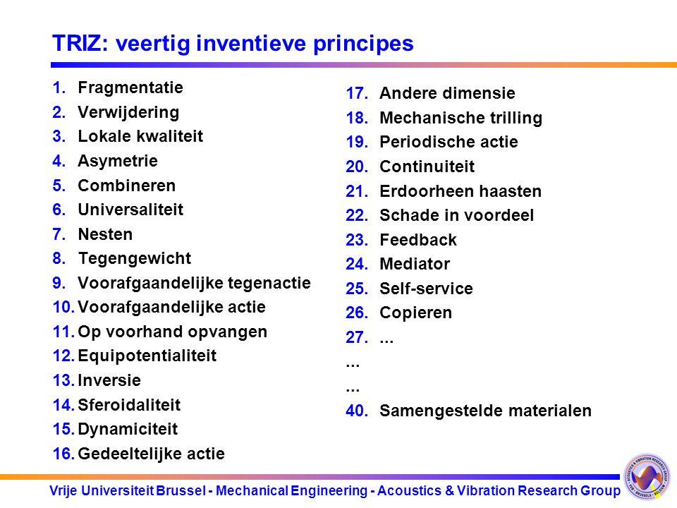 TRIZ: veertig inventieve principes