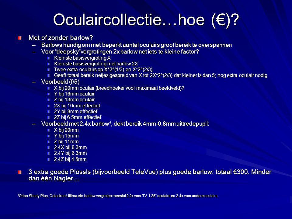 Oculaircollectie…hoe (€)