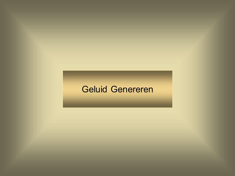 Geluid Genereren