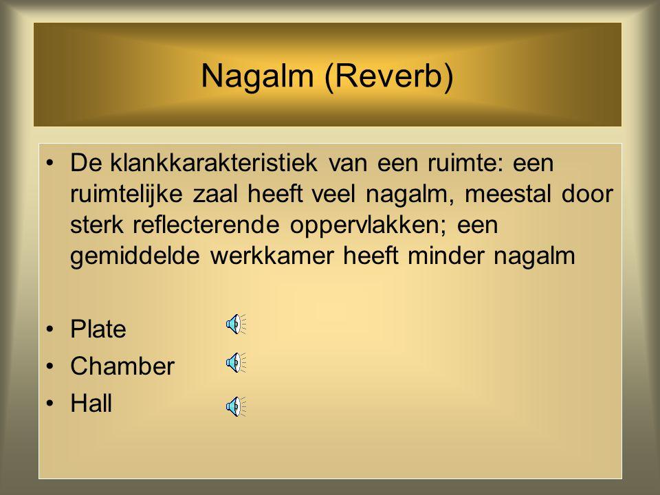 Nagalm (Reverb)