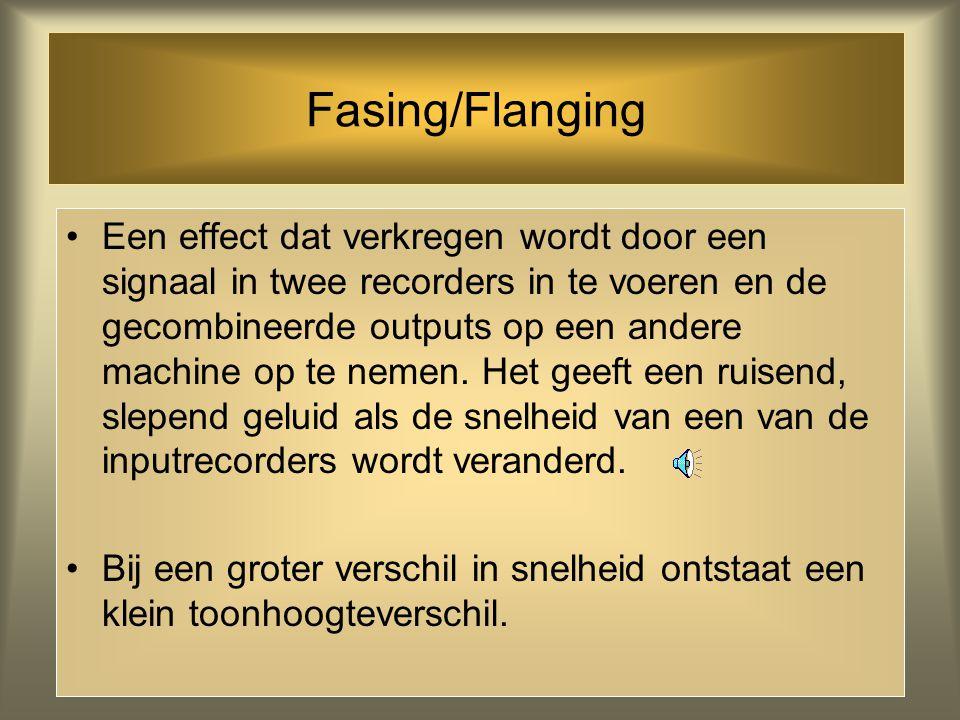 Fasing/Flanging
