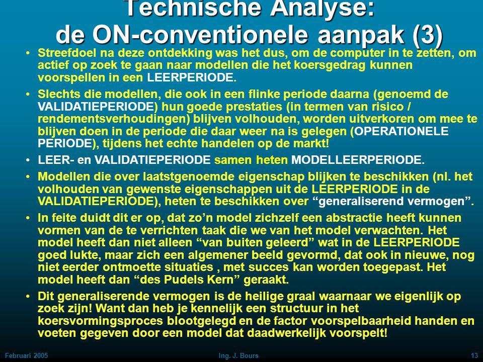 Technische Analyse: de ON-conventionele aanpak (3)