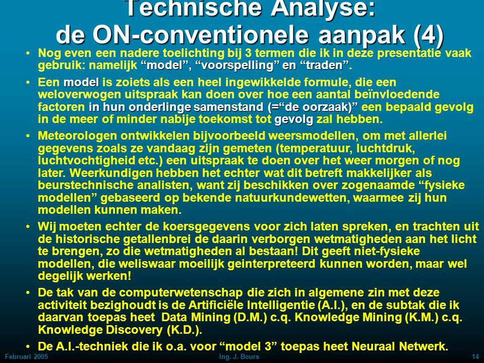 Technische Analyse: de ON-conventionele aanpak (4)