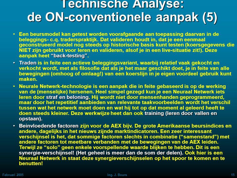 Technische Analyse: de ON-conventionele aanpak (5)