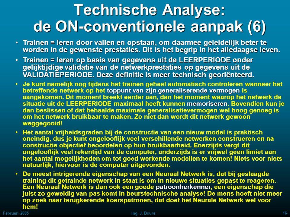 Technische Analyse: de ON-conventionele aanpak (6)