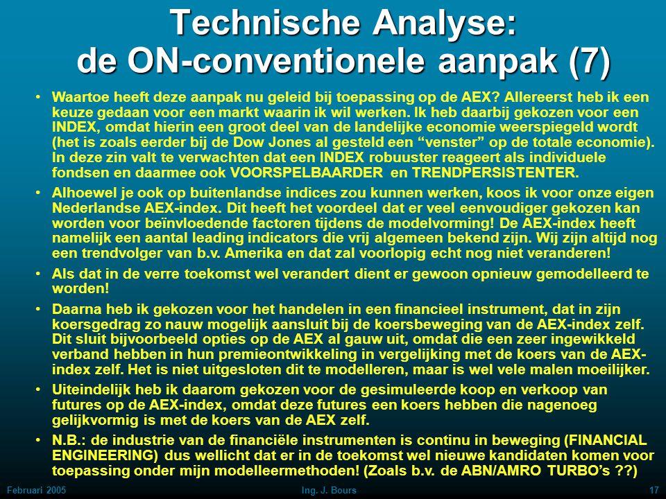 Technische Analyse: de ON-conventionele aanpak (7)
