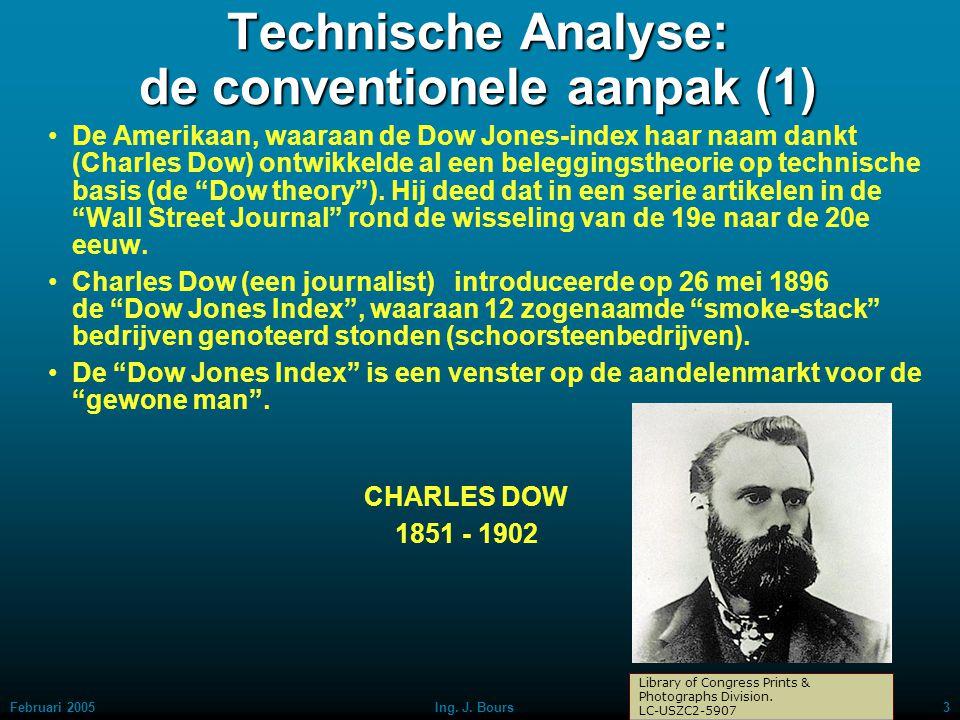 Technische Analyse: de conventionele aanpak (1)