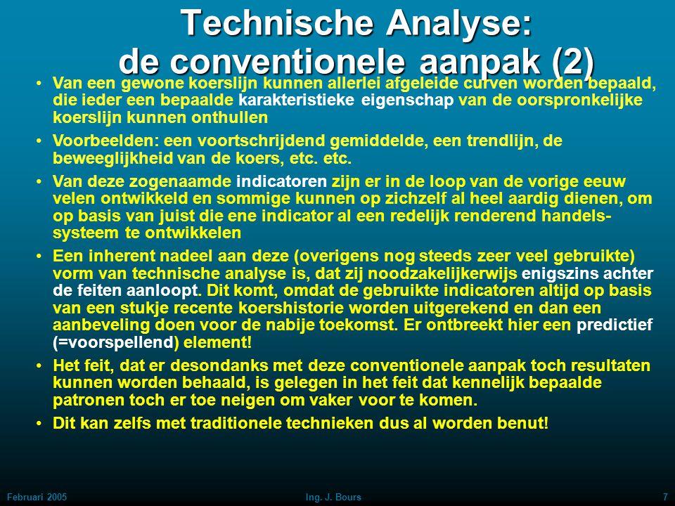 Technische Analyse: de conventionele aanpak (2)
