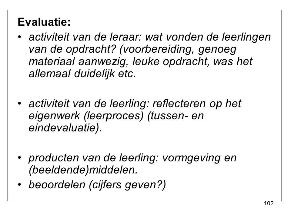 Evaluatie: