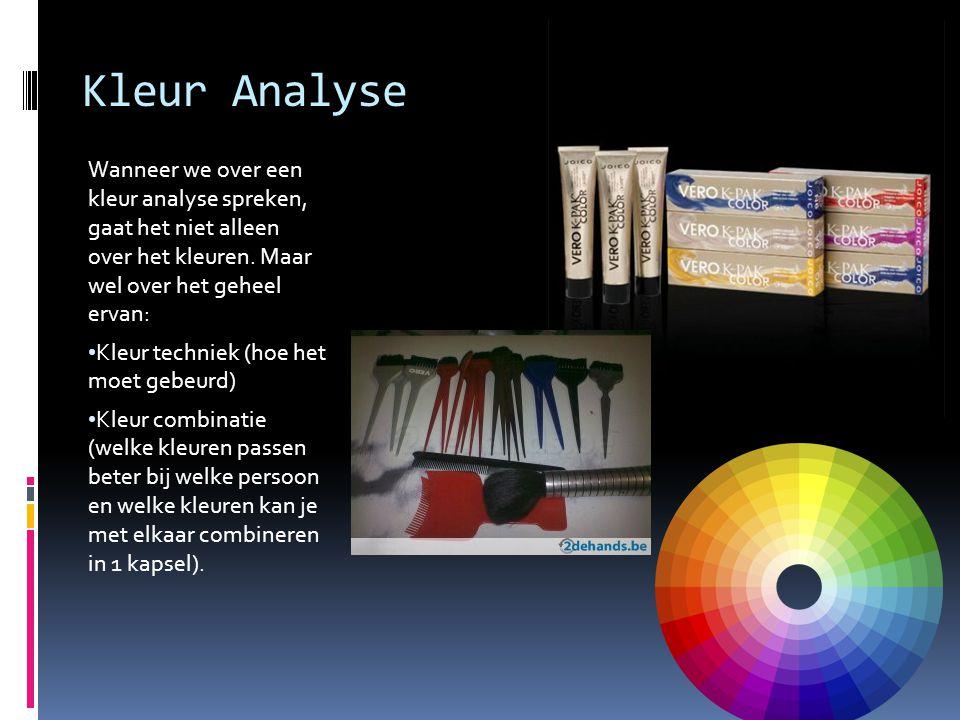 Kleur Analyse Wanneer we over een kleur analyse spreken, gaat het niet alleen over het kleuren. Maar wel over het geheel ervan:
