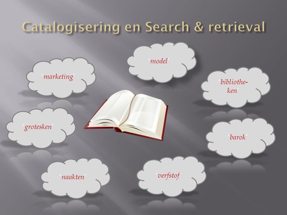 Catalogisering en Search & retrieval